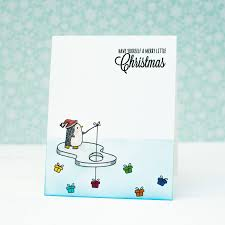 casology 120 one layer cas christmas card u2013 mayholic in crafts