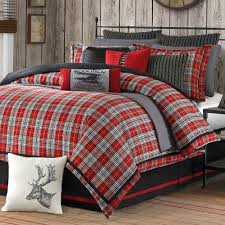 Grey White And Red Bedroom Ideas Bedroom Interesting Bed Decor Ideas With Pattern Plaid Flannel