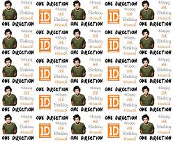 one direction wrapping paper personalised birthday gift wrap one direction harry styles 2015