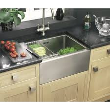 how to install stainless steel farmhouse sink kitchen how to install a kitchen sink in double bowl design