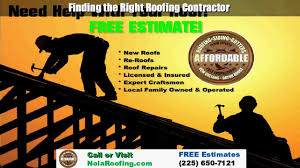 Free Estimates For Roofing by Affordable Baton Roofing Company Call Us 225 650 7121