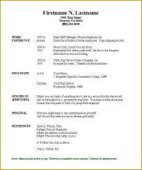 free resume forms blank free resume printable printable resume exles free printable