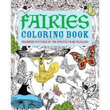 fairies colouring book arcturus publishing crafting