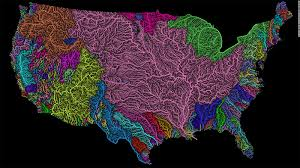 Alaska Rivers Map by River Maps Become Colorful Pieces Of Art Cnn Travel