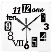 Wall Clocks Funky Wall Clocks Zazzle