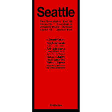 Seattle Downtown Attractions Map by Seattle Map U2013 Red Maps