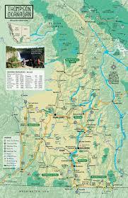 Rit Map Maps Tota Thompson Okanagan Tourism Association