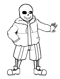 Sans Policy Templates by Sans Undertale Line By Kaweii On Deviantart