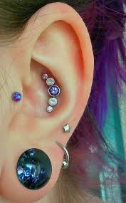 awesome cartilage earrings best 25 middle cartilage piercing ideas on ear