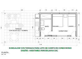 rectangular bungalow floor plans habitares