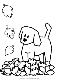 Free Fall Coloring Sheets For Kindergarten Good Pages In With Fall Coloring Page