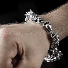 man sterling bracelet images Dragon bracelet for men 925 sterling silver JPG