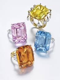 colored gem rings images Candy colored gemstone rings just in time for spring jpg