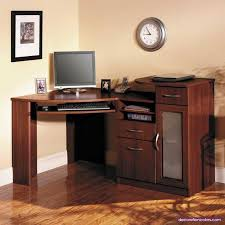 Corner Computer Desk Cherry Bush Cherry Corner Computer Desk Fair Exterior Home Security Is