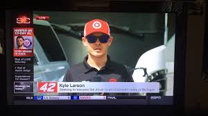 Seeking The Kyle Kyle Larson On Sportscenter 8 13 17