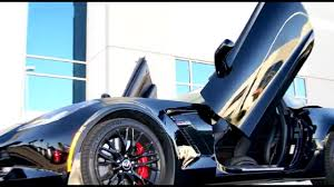 butterfly doors chevrolet corvette c7 z06 lambo doors by vertical doors inc youtube