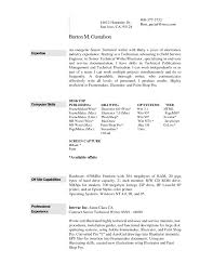 free resume templates operation manager template thumb regarding