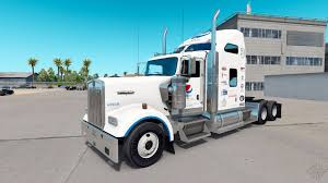 kenworth truck tractor pepsi skin for the kenworth w900 tractor for american truck simulator