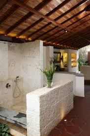 Outside Bathroom Ideas by Outside Kitchen Designs Corner Floating White How To Build An