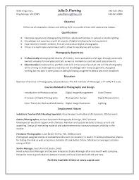 photography resume template photographer resume sle objective photography resume template