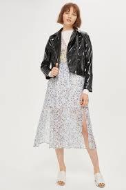 biker coat vinyl biker jacket jackets u0026 coats clothing topshop usa