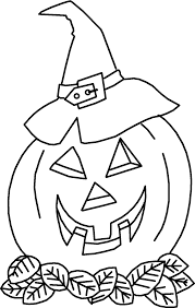 Free Coloring Pages For Halloween To Print by Halloween Pumpkin Print Images Pictures Findpik Throughout