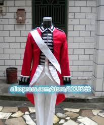 British Soldier Halloween Costume Buy Wholesale British Military Uniform China British