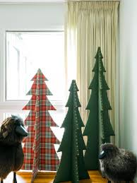 how to make an upholstered christmas tree hgtv