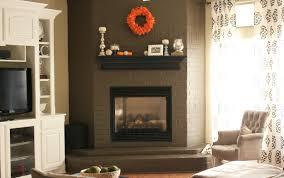 sunshiny fireplace mantel in brick fireplace mantel decorating