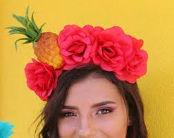 fruit headband miranda etsy