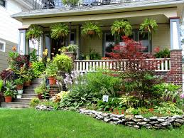 Ideas 4 You Front Lawn Landscaping Ideas To Hide Septic Lids Front Porch Ideas From Rate My Space Front Porch Garden Curb