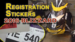 motocross helmet stickers 2016 ski doo blizzard registraion stickers for first trip youtube