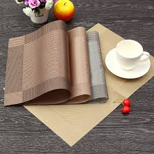 well reviewed print pp placemat coasters pads dining table mat