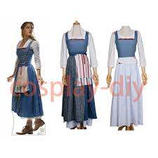beauty and the beast halloween costumes for adults belle cosplay japanese anime ebay