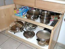 sliding kitchen shelves ebay