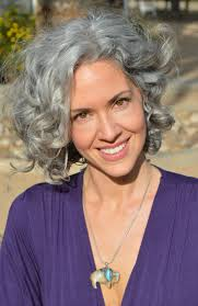 shoulder length layered haircuts for curly hair 141 best curly gray hair images on pinterest going gray silver