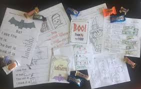 halloween journal halloween academic activities for special education breezy