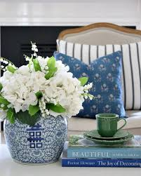 white ginger jar l white hydrangeas in a ginger jar vase teacup from provincial home