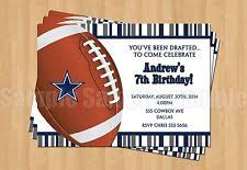 football birthday greeting cards and invitations ebay