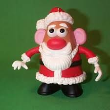 1999 mr potato santa ornament ornaments
