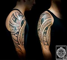 maori shoulder tatouage polynesien polynesian tattoo maori hawwaii tribal tattoo