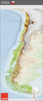 chile physical map free physical panoramic map of chile lighten