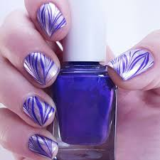 water nail art how to do water marble nail art ladylife