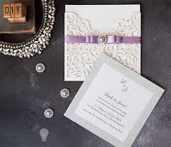 How To Make Wedding Invitations How To Make Sparkling Laser Cut Wedding Stationery Imagine Diy