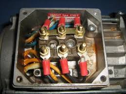 how to check the windings of a 3 phase ac motor with an ohmmeter