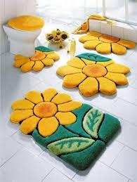 Yellow Bathroom Rugs Lovely Yellow Bathroom Rugs Fashionable Bathroom Rug Sets And Bath