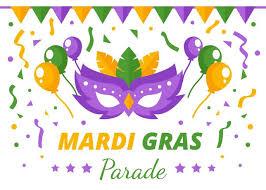 mardi gras masquerade mardi gras masquerade parade background free vector