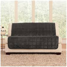 Sofa And Loveseat Slipcovers by Sure Fit Quilted Velvet Furniture Friend Armless Loveseat