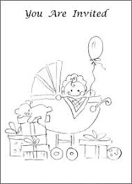 diy free printable party invitations coloring pages