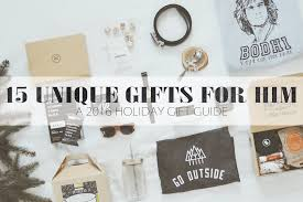 the joyful tribe 15 unique gifts for him a 2016 holiday gift guide